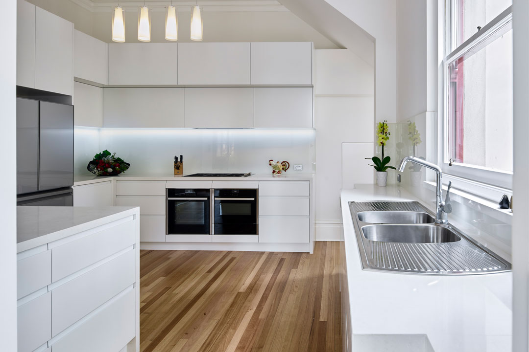 Mint Kitchen Group integrated appliances double oven