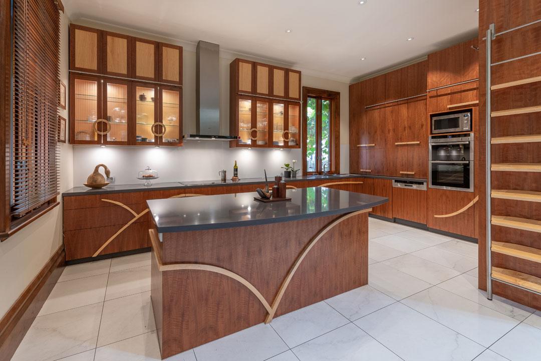 Zeb Walker Design timber kitchen timber accents