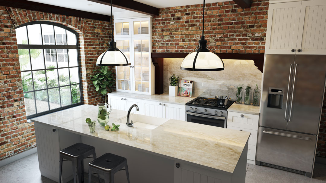 Dekton Stonika Constentino stone kitchen bench surface marble Melbourne