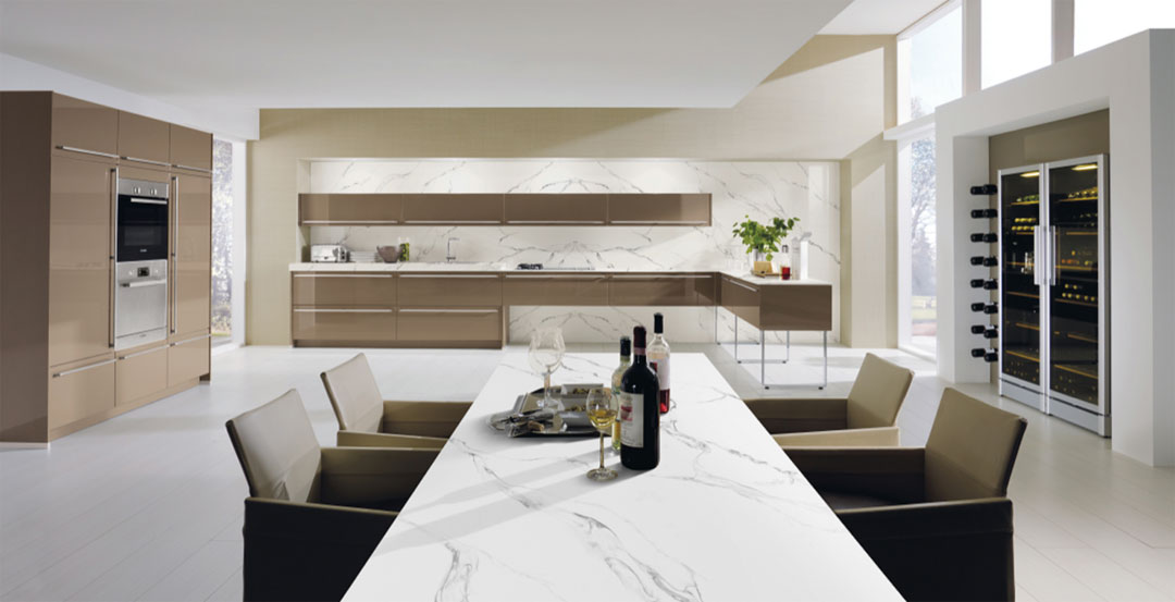 Lithostone Surfaces marble kitchen benchtops stain resistant